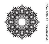 beautiful vector circular... | Shutterstock .eps vector #1170017923