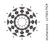 beautiful vector circular... | Shutterstock .eps vector #1170017929