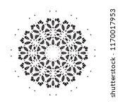 beautiful vector circular... | Shutterstock .eps vector #1170017953