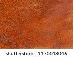 grunge rusted metal texture.... | Shutterstock . vector #1170018046