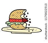 comic book style cartoon half... | Shutterstock .eps vector #1170022513