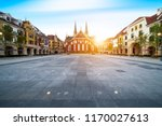 nigth view of city center of... | Shutterstock . vector #1170027613