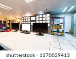 modern plant control room and... | Shutterstock . vector #1170029413