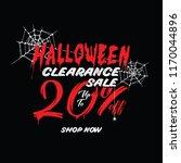 halloween clearance sale vol.1...   Shutterstock .eps vector #1170044896