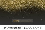 golden glitter texture.... | Shutterstock .eps vector #1170047746