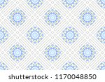colorful mosaic seamless... | Shutterstock . vector #1170048850