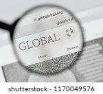 milan  italy   august 20  2018  ...   Shutterstock . vector #1170049576