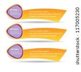 vector paper progress... | Shutterstock .eps vector #117005230
