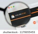 milan  italy   august 20  2018  ... | Shutterstock . vector #1170055453