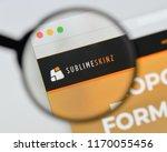 milan  italy   august 20  2018  ... | Shutterstock . vector #1170055456