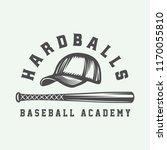 vintage baseball sport logo ... | Shutterstock .eps vector #1170055810