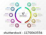 infographic design template.... | Shutterstock .eps vector #1170063556