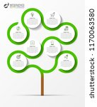 infographic design template.... | Shutterstock .eps vector #1170063580