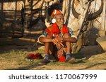 longwa village  mon  nagaland...   Shutterstock . vector #1170067999
