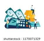 vector illustration  financial...   Shutterstock .eps vector #1170071329