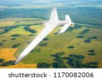 unmanned military drone on... | Shutterstock . vector #1170082006