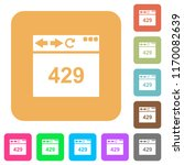 browser 429 too many requests... | Shutterstock .eps vector #1170082639