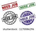 need job seal prints with...   Shutterstock .eps vector #1170086296