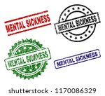 mental sickness seal prints... | Shutterstock .eps vector #1170086329