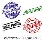 medicine standards seal prints... | Shutterstock .eps vector #1170086470