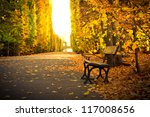 Autumn In The Park In Gdansk ...