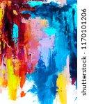 abstract art background.... | Shutterstock . vector #1170101206