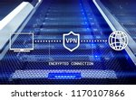 virtual private network  vpn ... | Shutterstock . vector #1170107866