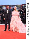 bradley cooper  l  and lady... | Shutterstock . vector #1170143203