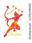 vector illustration. indian... | Shutterstock .eps vector #1170149053