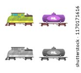 vector illustration of train...   Shutterstock .eps vector #1170171616