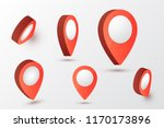 map pointer vector illustration.... | Shutterstock .eps vector #1170173896