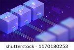 technology isometric... | Shutterstock .eps vector #1170180253