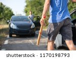 aggressive drivers attacked... | Shutterstock . vector #1170198793