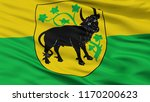 gustrow city flag  country...   Shutterstock . vector #1170200623