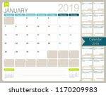 english calendar planner for... | Shutterstock .eps vector #1170209983