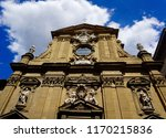 church in florence  italy.    Shutterstock . vector #1170215836