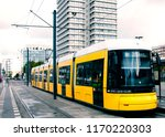 berlin yellow subway  u bahn ... | Shutterstock . vector #1170220303