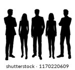 vector silhouettes men and... | Shutterstock .eps vector #1170220609