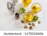 cocktail margarita of tequila ...   Shutterstock . vector #1170223606