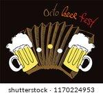 october festival print with... | Shutterstock .eps vector #1170224953