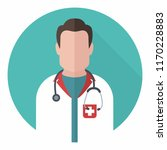 vector medical icon doctor.... | Shutterstock .eps vector #1170228883
