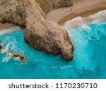 aerial views of the turquoise... | Shutterstock . vector #1170230710