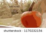 pumpkin   hello autumn | Shutterstock . vector #1170232156
