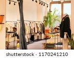 interior of luxury boutique... | Shutterstock . vector #1170241210