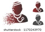sick physician icon in sparkle  ... | Shutterstock .eps vector #1170243970