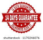 14 days guarantee seal imprint... | Shutterstock .eps vector #1170246076