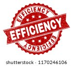 efficiency seal print with... | Shutterstock .eps vector #1170246106