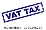 rectangle vat tax seal print... | Shutterstock .eps vector #1170246289