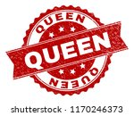 queen seal imprint with... | Shutterstock .eps vector #1170246373