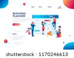 time management. hours planning ... | Shutterstock .eps vector #1170246613